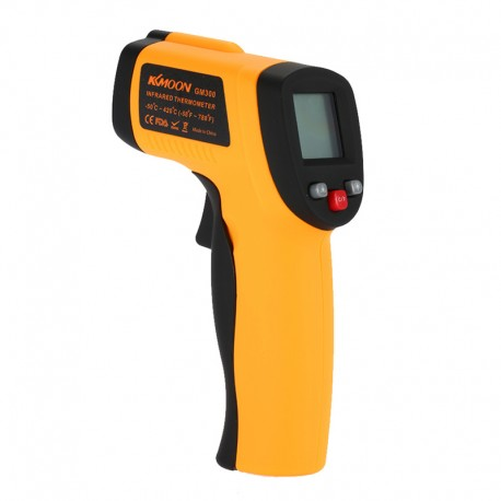 Termômetro digital infravermelho com display LCD